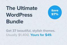 Ultimate WordPress Bundle (Save 97%) by Theme Junkie on @creativemarket