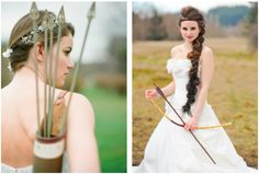 Getting married? Completely HG obsessed nerd? Want to have all the loves present on the big day? Here's some HG wedding ideas for those of you brave enough to make your guest into tributes: http://www.examiner.com/the-hunger-games-in-national/stylists-create-wedding-photo-shoots-inspired-by-the-hunger-games