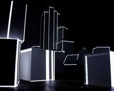 AntiVJ / Light Sculpture v3 by Romain Tardy (AntiVJ). AntiVJ is:
