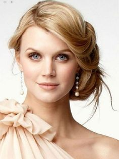 Short Party Hairstyles for Oval Faces 2017
