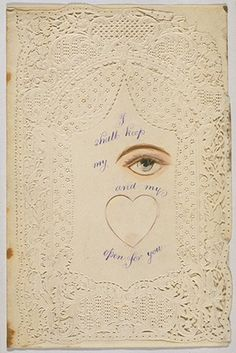 Valentine's card, c.1860-1880