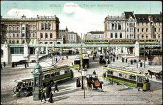 Berlin-Kreuzberg 1911 Hallesches Tor