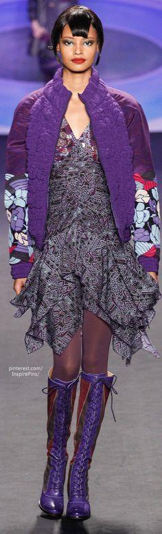 Fall 2014 Anna Sui | The House of Beccaria#