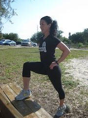 """Park Bench Exercises - Sub squats for the """"seat sits"""""""