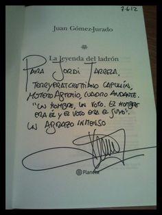 @billpuerta 79    Dedicatoria de Jordi  ;)