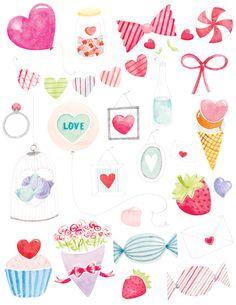 VALENTINES - Amy Borrell | Illustration & Design