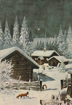 "Harald Wiberg "" Vinternatt "" p19,7 -"