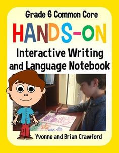 Interactive Writing and Language Notebook Hands-On Sixth Grade $ 20% off 2/27 and 2/28 and an additional 10% off with the code TPT3