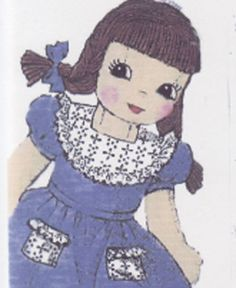 Public Domain Doll Patterns | Muse of the Morning Crafty Kits, Wool Felt & PDF Sewing Patterns