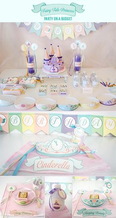 Fairytell Princess Party on a Budget ...super cute!