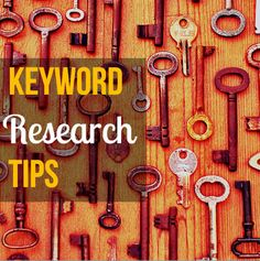 Keyword Research Tips - Make sure your blog post has a chance of being read. #seo #contentmarketing #keywordplanner