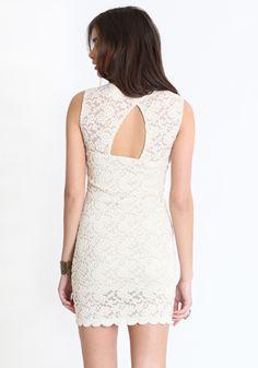 threadsence Lace Dress. White bridesmaids dress?