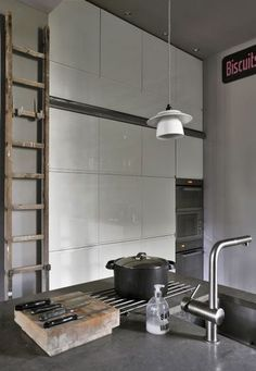 Vintage kitchen with