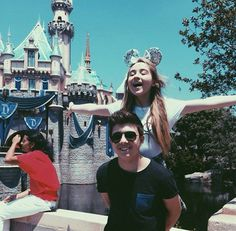 Sabrina & Bradley at Disney World 2015.