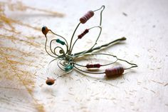 Butterfly Hair Clips  Bobby Pin Something Blue by Aula46 on Etsy, $34.00