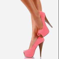 I wish I wouldnt break an ankle wearing these because they are so cute for spring!