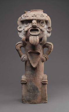 Incense burner top  Southern Highlands(?), Guatemala Museum of Fine Arts, Boston