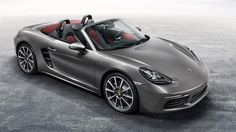Porsche's new Boxster follows in the footsteps of the original 718