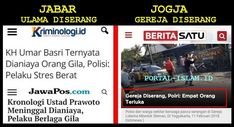 """Ragam Berita Indonesia - Setelah """"orang gila"""" bersenjata tajam melakukan teror, penyerangan, penganiayaan dan bahkan pembunuhan terhadap..."""
