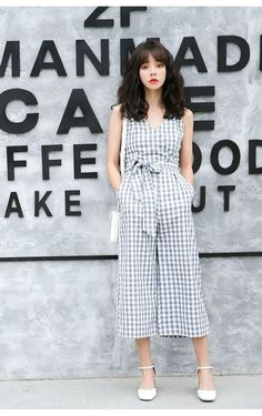 Kpop Fashion, Daily Fashion, Korean Fashion, Fashion Beauty, Womens Fashion, Dress Anak, Button Front Dress, Korean Outfits, Asian Style