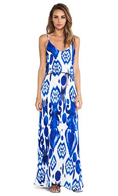 Karina Grimaldi Zeila Maxi Dress in Calico | REVOLVE
