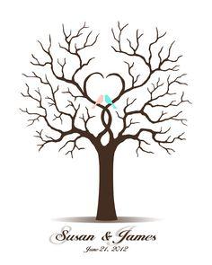 Fingerabdruck Baum Vorlage  andere Motive kostenlos zum Ausdrucken  Basteln  Baum vorlage