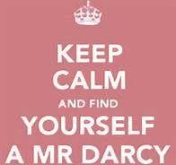 Mr Darcy And Elizabeth Bennet -