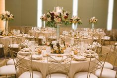 The Fairmont | The Event Group Weddings | Pittsburgh Wedding | Tablescape, Fall Wedding, Elegant Wedding Table, Wedding Centerpieces with Candles