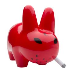 Kidrobot Smorkin' Labbit Red now featured on Fab.