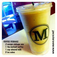 coffee #vishake.  what a great meal replacement and/or post workout recovery drink option! filled with vitamins, minerals (including protein and fiber), no soy, #gluten-free, low sugar, and low sodium! and you are only looking at spending about $2/day for 1 vishake for an entire month!   no wonder #bodybyvi is the #1 #weightloss platform in north america! join me at www.mave.myvi.net/challenge
