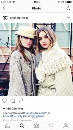 Winter 2017, Karl Lagerfeld, Fur Coat, Winter Hats, Chanel, Fall, Jackets, Fashion, Autumn