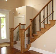 Custom Staircase Railings Serving Surrey, BC and Surrounding Areas RVRS - Rick VanderHeide Renovation Specialist Staircase Railings by www.RVRS.ca