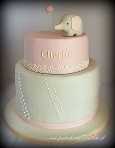Dooptaart Babyshower, Cake, Desserts, Handmade, Food, Tailgate Desserts, Deserts, Hand Made, Baby Shower