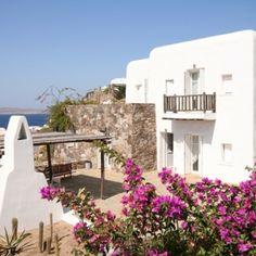 villa phoebe, mykonos, greece Greece Trip, Greece Travel, Greek House, Mykonos Greece, Night Life, Sunrise, Scenery, Villa, Wanderlust