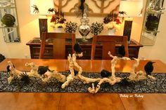 Life & home at 2102: Halloween Tablescape 2012