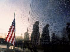 Vietnam Memorial, Washington D.C. ... true art can bring anyone to tears.