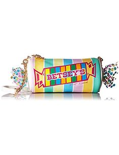 Betsey Johnson Betsey Johnson - Smarty Pants Crossbody (Multi) Cross Body Handbags from Zappos Unique Handbags, Unique Purses, Cute Purses, Purses And Handbags, Leather Handbags, Besty Johnson Purses, Betsey Johnson Handbags, Novelty Handbags, Novelty Bags