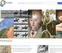 Europeana.eu - is an internet portal that acts as an interface to millions of books, paintings, films, museum objects and archival records that have been digitised throughout Europe. Mona Lisa by Leonardo da Vinci, Girl with a Pearl Earring by Johannes Vermeer, the works of Charles Darwin and Isaac Newton and the music of Wolfgang Amadeus Mozart are some of the highlights on Europeana.