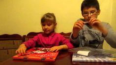 Открытие календарей с шоколадом