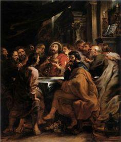 The Last Supper - Peter Paul Rubens 1631 - 1632
