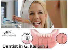 Dentist in G. Kailash 1 provide world class dental implant treatment care services in Delhi http://www.delhi-dentist-implant.in/