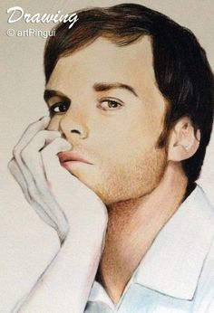 #dexter #dextermorgan #MichaelCHall #drawing