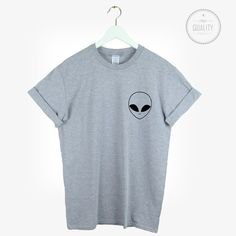 ALIEN POCKET t-shirt shirt tee unisex mens womens tumblr pinterest instagram hipster blogger cool ufo *brand new by freesbeeClothing on Etsy https://www.etsy.com/listing/209363904/alien-pocket-t-shirt-shirt-tee-unisex