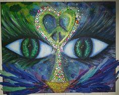 Eyes#art#paint#colors#fun#creatief#glitter