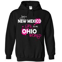Best gift - NEW MEXICO OHIO girl 03HPink T-shirt/mug BLACK/NAVY/PINK/WHITE M/L/XL/XXL/3XL/4XL/5XL