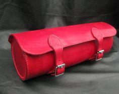 Handmade leather motorcycle pannier bag от UniqueSaddlery на Etsy