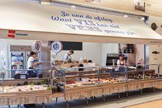 DekaMarkt 'World of Food' store by Twelve Studio, Netherlands