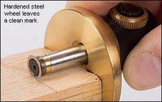 Veritas® Micro-Adjust Wheel Marking Gauge - Woodworking