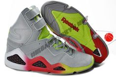 Womens shoes Reebok CL Chi-Kaze Basquiat Grey Green Red Halloween Discounts