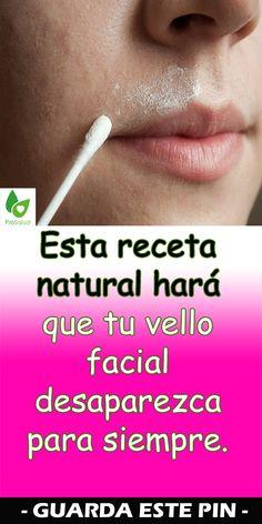Esta receta natural hará que tu vello facial desaparezca para siempre Beauty Makeup Tips, Beauty Hacks, Hair Beauty, Atkins Diet, Tips Belleza, Mascara, Dental, Skin Care, Make Up
